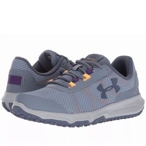 Under Armour Toccoa Gray Running Shoes